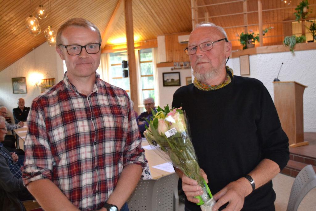 Bjørn Sten og Gunnar Leirtrø