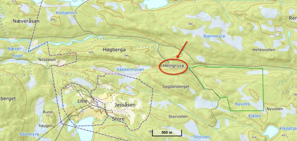 Heingruva i Lånke